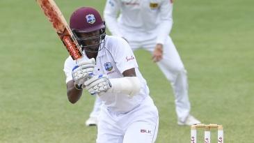 Kraigg Brathwaite led West Indies' fight to save the Test