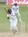 Kraigg Brathwaite led West Indies' fight to save the Test, West Indies v Sri Lanka, 2nd Test, St Lucia, 5th day, June 18, 2018