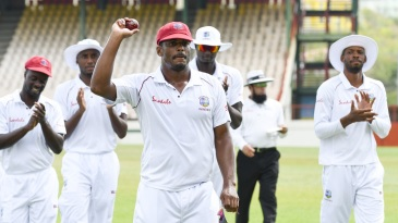 Shannon Gabriel's 13 for 121 were the third-best figures for a West Indian