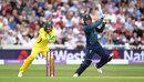 Jason Roy cuts through the covers, England v Australia, 3rd ODI, Trent Bridge, June 19, 2018