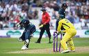 Jason Roy was run out to break the opening stand, England v Australia, 3rd ODI, Trent Bridge, June 19, 2018