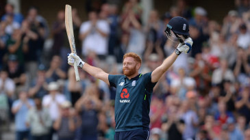 Jonny Bairstow brought up his sixth ODI hundred