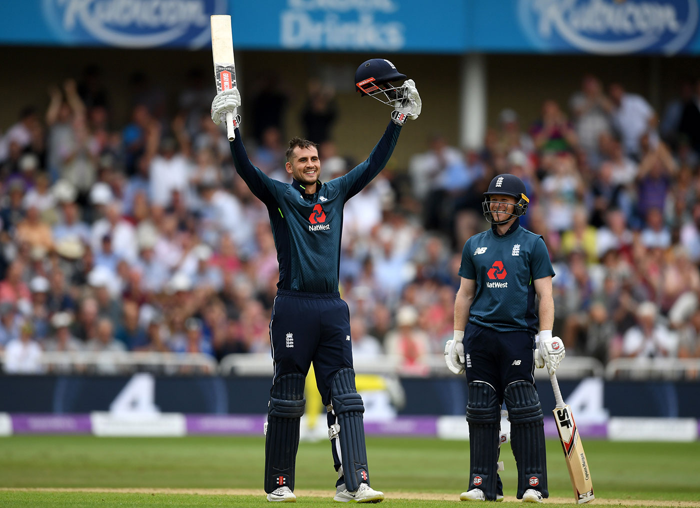 England set record for highest ever ODI team score