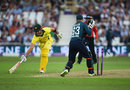 Marcus Stonis was run out when well set, England v Australia, 3rd ODI, Trent Bridge, June 19, 2018