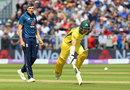 Craig Overton looks on as Australia run a quick single, England v Australia, 4th ODI, Chester-le-Street, June 21, 2018