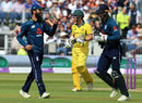 Travis Head holed out to long-on , England v Australia, 4th ODI, Chester-le-Street, June 21, 2018