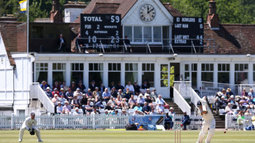 Joe Denly was in entertaining form at Tunbridge Wells