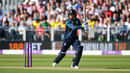 Jonny Bairstow drives through the covers, England v Australia, 4th ODI, Chester-le-Street, June 21, 2018
