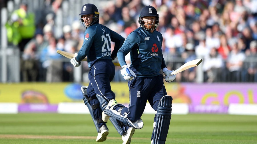 Jonny Bairstow and Jason Roy added another century stand