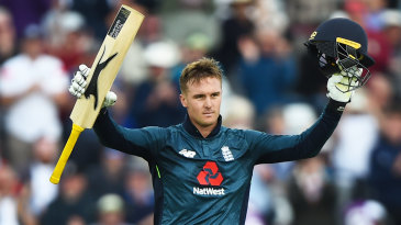 Jason Roy made his second hundred of the series