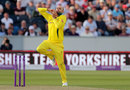 Nathan Lyon was making his first ODI appearance in two years, England v Australia, 4th ODI, Chester-le-Street, June 21, 2018