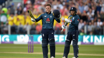 Jason Roy and Jonny Bairstow made hay again for England