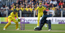 Joe Root missed a sweep and was bowled, England v Australia, 4th ODI, Chester-le-Street, June 21, 2018
