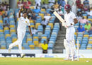 Kasun Rajitha has Roston Chase chop on, West Indies v Sri Lanka, 3rd Test, Bridgetown, 1st day, June 23, 2018