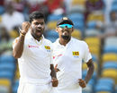 Lahiru Kumara delivered 148kph thunderbolts, West Indies v Sri Lanka, 3rd Test, Bridgetown, 1st day, June 23, 2018