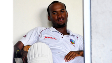 Kraigg Brathwaite in the West Indies dressing room