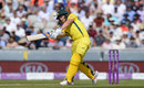 Aaron Finch briefly helped Australia to a flying start, England v Australia, 5th ODI, Old Trafford, June 24, 2018