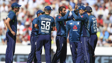 Moeen Ali claimed two wickets in his opening over
