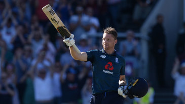 Jos Buttler brought up his hundred as the target neared