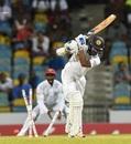 Niroshan Dickwella castled by Jason Holder. West Indies v Sri Lanka, 3rd Test, Bridgetown, 3rd day, June 25, 2018