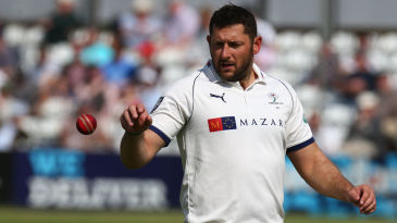 Tim Bresnan was in the wickets for Yorkshire