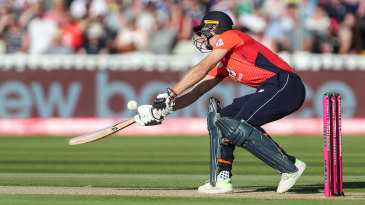 Jos Buttler plays the ramp shot