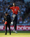 Chris Jordan defeated Glenn Maxwell with a slower ball, England v Australia, only T20I, Edgbaston, June 27, 2018
