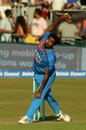 Jasprit Bumrah proved difficult to get away. Ireland v India, 1st T20I, Malahide, June 27, 2018