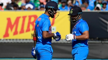 KL Rahul and Suresh Raina led India's charge