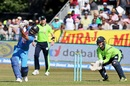 Suresh Raina hits over the top, Ireland v India, 2nd T20I, Dublin, June 29, 2018