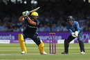 Rilee Rossouw plays through the off side, Hampshire v Kent, Royal London Cup, Final, Lord's, June 30, 2018