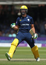 Rilee Rossouw reaches his century, Hampshire v Kent, Royal London Cup, Final, Lord's, June 30, 2018