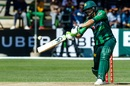 Shoaib Malik hits through the covers, Zimbabwe v Pakistan, T20I tri-series Match 1, Harare, July 1, 2018
