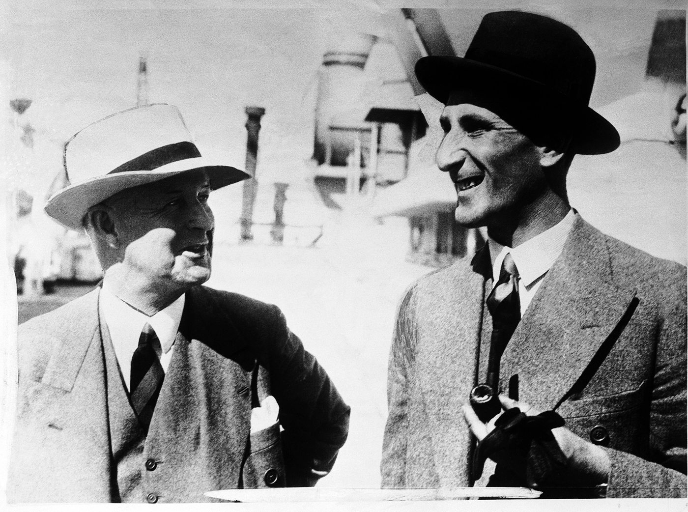 Pelham Warner and Douglas Jardine arrive in Australia for the 1932-33 Ashes with little knowledge of how the consequences of their actions would reverberate through cricket for years to come