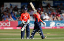 Danni Wyatt led England's chase with a half-century, England Women v New Zealand, T20 tri-series, Final, Chelmsford, July 1, 2018