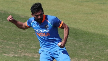 Deepak Chahar has enjoyed rich returns on India A's tour of England