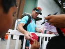 David Warner signs a cap for a fan, Canada GLT20, July 2, 2018