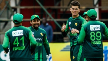 Shaheen Shah Afridi took three wickets against Australia