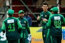 Shaheen Shah Afridi took three wickets against Australia, Australia v Pakistan, 5th match, T20I Tri-series, Harare, July 5, 2018