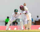 Shai Hope drives down the ground, West Indies v Bangladesh, 1st Test, North Sound, 2nd day, July 5, 2018