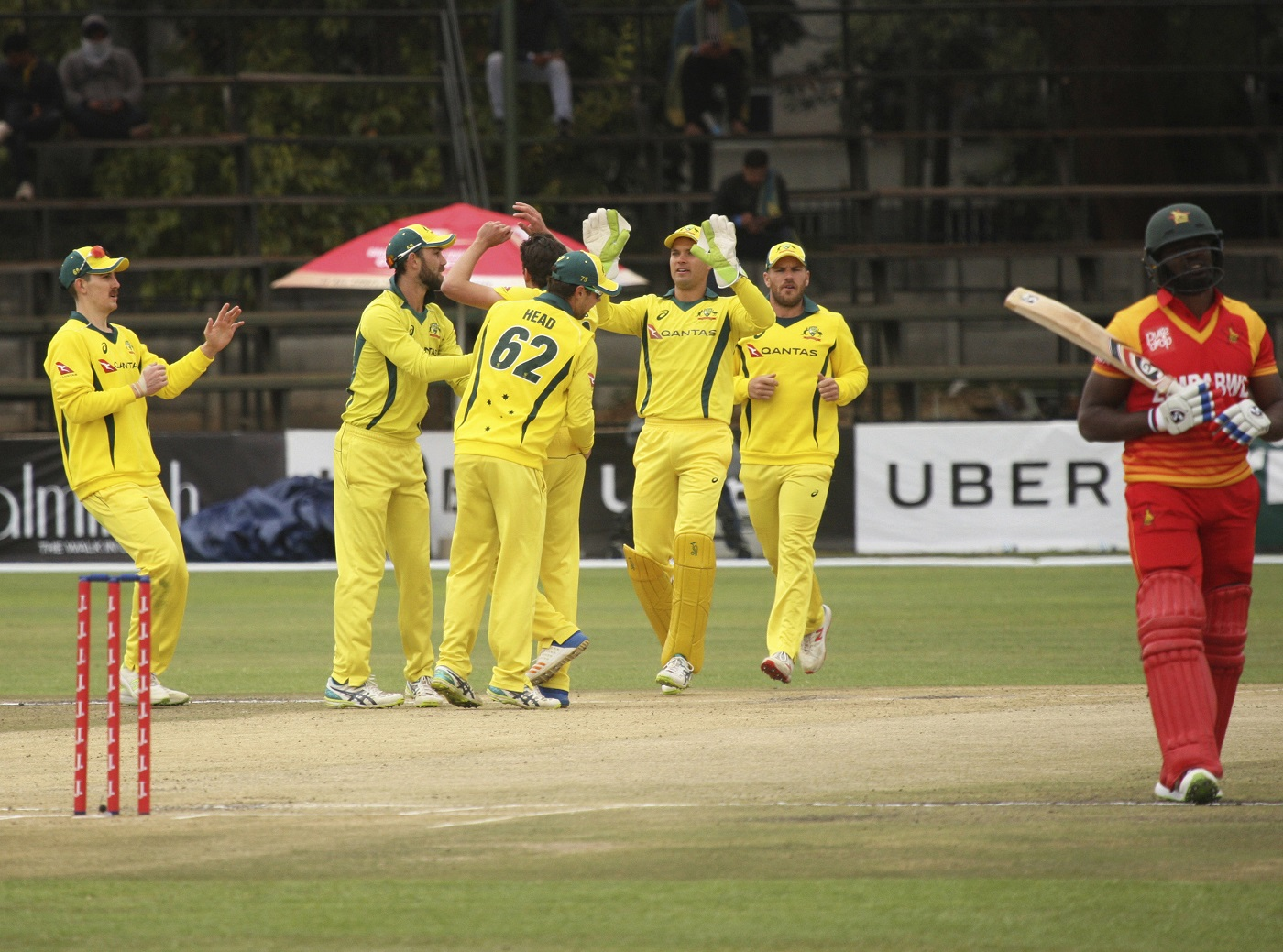 Tri-series 2018: Australia Prevails over Zimbabwe to Seal Finale Berth with Pakistan 1