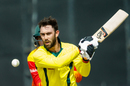Glenn Maxwell shapes to play the ball, Australia v Zimbabwe, Zimbabwe tri-series, Harare, July 6, 2018