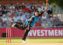 Brett D'Oliveira played a key role in Worcestershire's victory , Lancashire v Worcestershire, Vitality T20 Blast, Lancashire v Worcestershire, July 5, 2018
