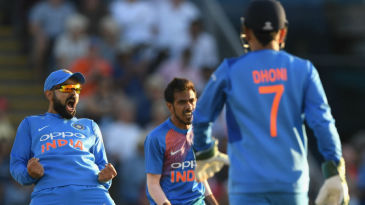 Yuzvendra Chahal foxed Joe Root with a googly