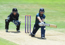 Heather Knight plays the reverse sweep, England v New Zealand, 1st ODI, Headingley
