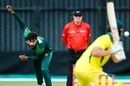 Mohammad Amir delivers a ball in the final, Australia v Pakistan, Zimbabwe tri-series final, Harare, July 8, 2018