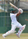 Temba Bavuma punches through the covers,  Sri Lanka Board XI v South Africans, P Sara Oval, 2nd day, July 8, 2018