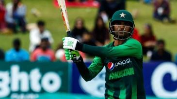 Fakhar Zaman en route to a matchwinning 91