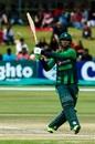 Fakhar Zaman en route to a matchwinning 91, Australia v Pakistan, Zimbabwe tri-series final, Harare, July 8, 2018