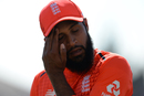 Adil Rashid had a forgettable day in the field, England v India, 3rd T20I, Final, Bristol, July 8, 2018